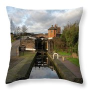 Bratch Locks Landscape Throw Pillow