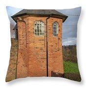 Bratch Locks Toll House Throw Pillow