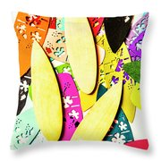 Brb Making Waves Throw Pillow