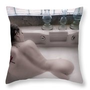 Brennan Hill Tub 1 Throw Pillow