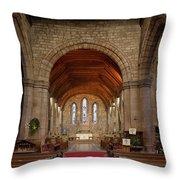 Brewood Church Throw Pillow