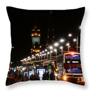 Bright Lights Nobody Wanted Throw Pillow