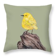 Bright Spot #2 Throw Pillow by Maria Langgle