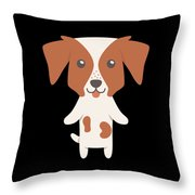 Brittany Gift Idea Throw Pillow