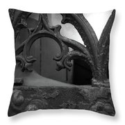 Broken Window Throw Pillow by Edward Lee