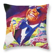 Brother Ray Charles Throw Pillow