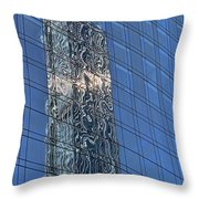 Building Reflections # 3 Throw Pillow