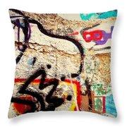 Bup Beast Throw Pillow