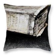 A Book Of Survival Throw Pillow