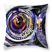 Business Casual Fish Throw Pillow
