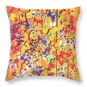 Butterfly Papercraft  Throw Pillow