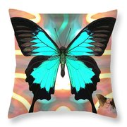 Butterfly Patterns 21 Throw Pillow