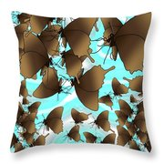 Butterfly Patterns 6 Throw Pillow