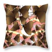 Butterfly Patterns 8 Throw Pillow