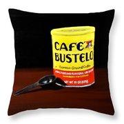 Cafe Bustelo Throw Pillow