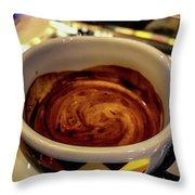 Caffe Doppio Throw Pillow