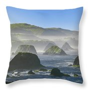 California Ocean Throw Pillow