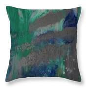 Calm, Cool And Collected Sold Throw Pillow