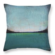 Calm Ocean 1 Throw Pillow