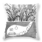 Calming Decor Throw Pillow