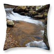 Calming Water Sounds - North Carolina Throw Pillow
