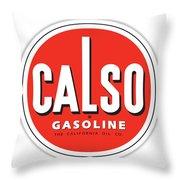 Calso Sign Throw Pillow