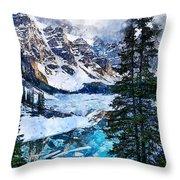 Canada, Alberta - 07 Throw Pillow