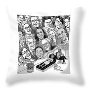 Candidate Angst Throw Pillow