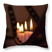 Candlestick  Throw Pillow