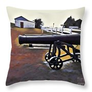 Cannon - Victoria Park Pei Throw Pillow