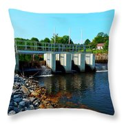 Canton Central 7 Throw Pillow