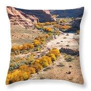 Canyon De Chelley Autumn Throw Pillow