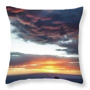 Canyon Sunset Throw Pillow