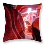 Canyon X Throw Pillow