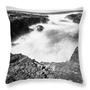 Cape Perpetua Throw Pillow by Whitney Goodey