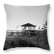 Cape San Blas Throw Pillow