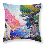 Capo Di Noli - Digital Remastered Edition Throw Pillow