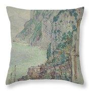 Capri, 1897  Throw Pillow