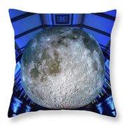 Capture The Moon Throw Pillow