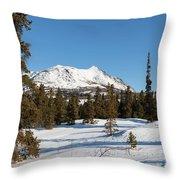 Carcross Desert Off South Klondike Highway Yukon Throw Pillow