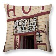 Cardrona Hotel, Cardrona, Otago, South Throw Pillow