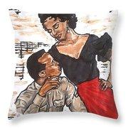 Carmen Jones - That's Love Throw Pillow