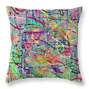 Carnevale Per Giovanni Throw Pillow