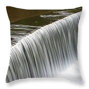 Carolina Water Splash Throw Pillow