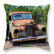 Cars From The Past Throw Pillow