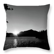 Cascade Sunset Throw Pillow