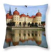 Castle Moritzburg  Throw Pillow