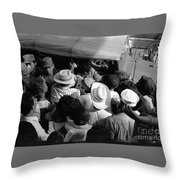 Castro Men And Women Throw Pillow