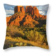 Cathedral Rock, Coconino National Throw Pillow