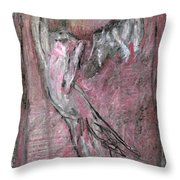 Cats In A Living Room Throw Pillow